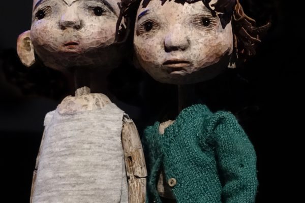 Hansel & Gretel puppets by Jan Zalud